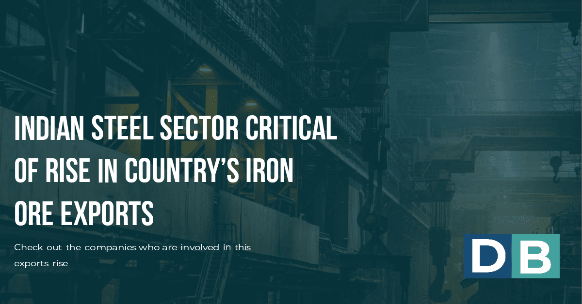 Indian steel sector critical of rise in country's iron ore exports